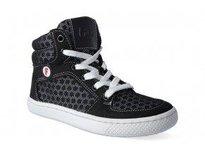 skejtacke barefoot boty filii skater champion vegan laces textile black 3