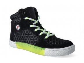 skejtacke barefoot boty filii skater champion laces velour textile black 2