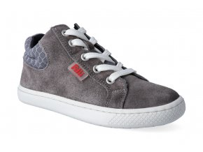 kotnikova obuv filii barefoot skater one laces velours grey m 2