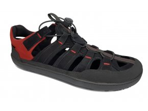 Barefoot sandály Sole Runner - FX Trainer 4 Sandal Black/red
