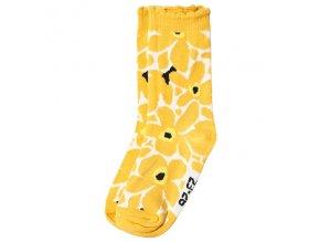 Move by Melton ponožky Big Flower Yolk Yellow