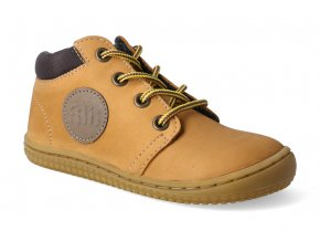 barefoot kotnikova obuv filii gecko nubuk terra laces m 3