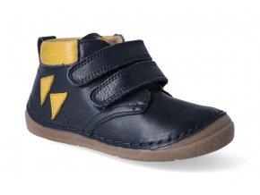 kotnikova obuv froddo flexible dark blue s aplikaci 2