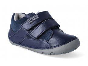barefoot zateplena obuv protetika ned navy 3