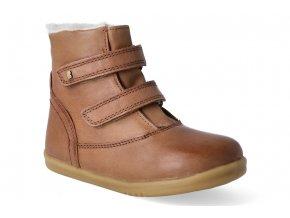 zimni obuv bobux aspen boot caramel 2