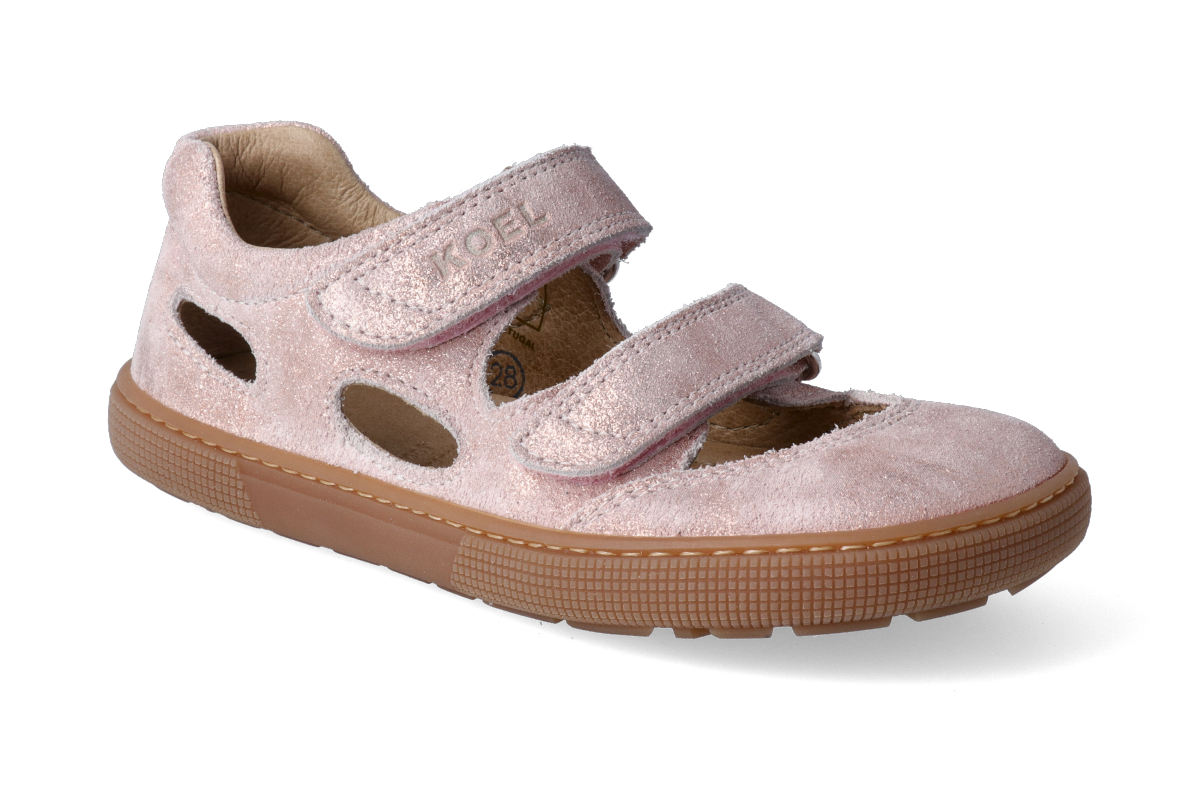 Levně Barefoot sandálky KOEL4kids - Bernardo Pink vilan 34