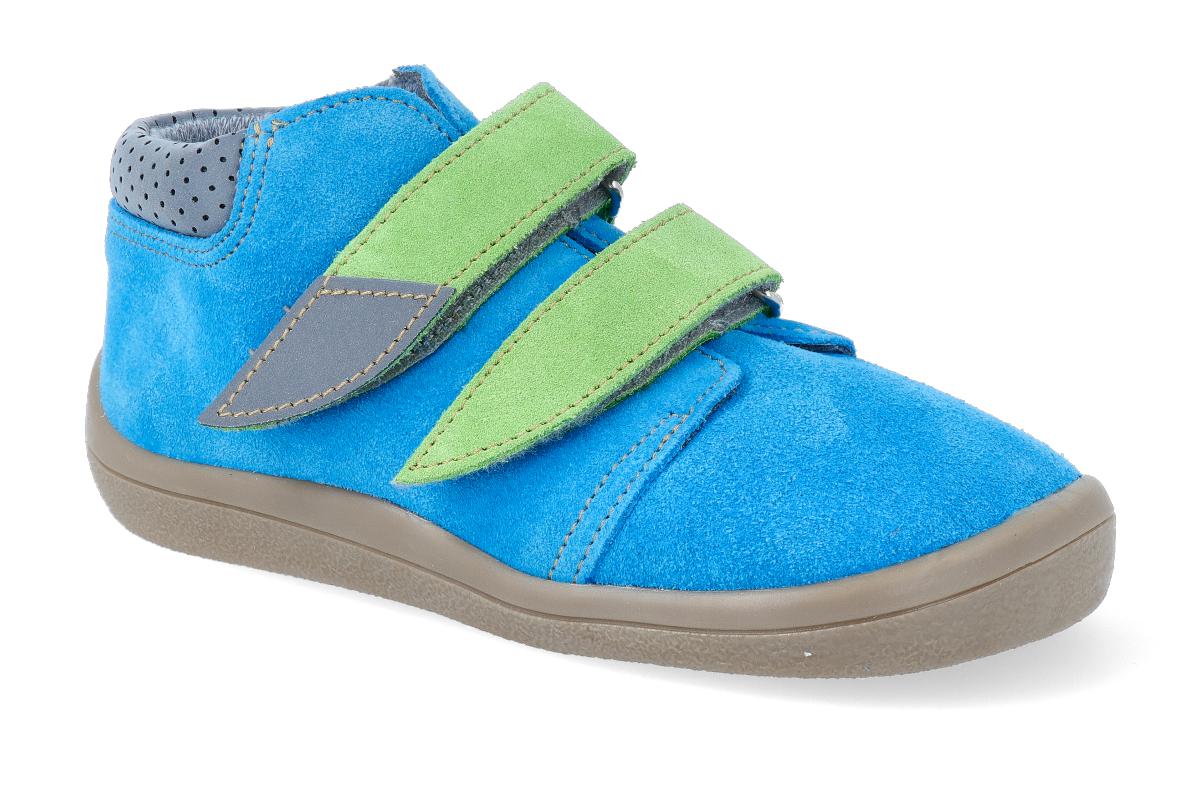 Levně Barefoot kotníková obuv s membránou Beda - Tim 35
