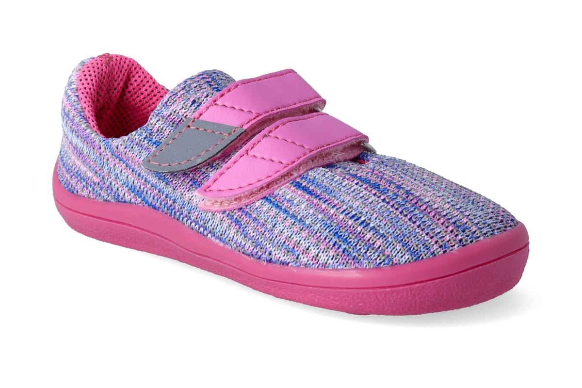 Levně Barefoot tenisky Beda - Candy vegan 26