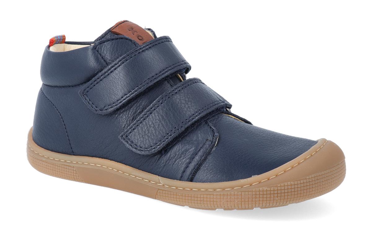 Levně Barefoot kotníková obuv KOEL4kids - Don Blue 26