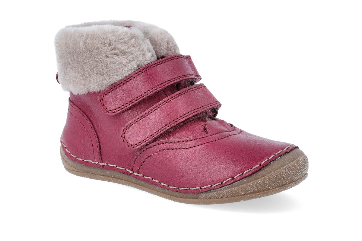 Levně Zimní obuv Froddo - Flexible Sheepskin Girl Bordeaux 24