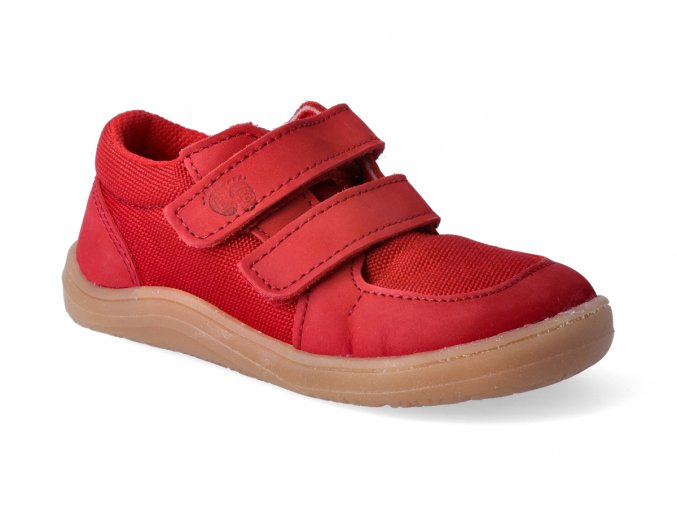 barefoot tenisky baby bare febo sneakers red 2 2