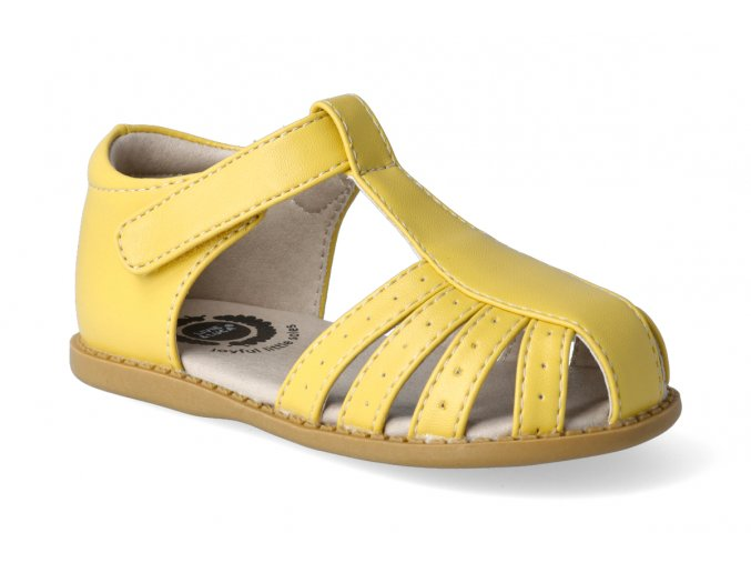 sandalky livie and luca paz lemon yellow 2