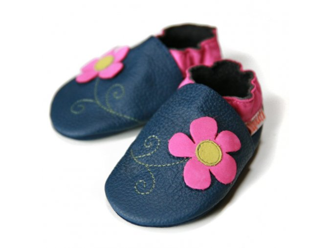 2331 1 liliputi soft baby shoes spring flower 2224