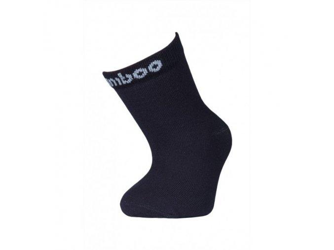 107(2) detske bambusove ponozky trepon bobik modre