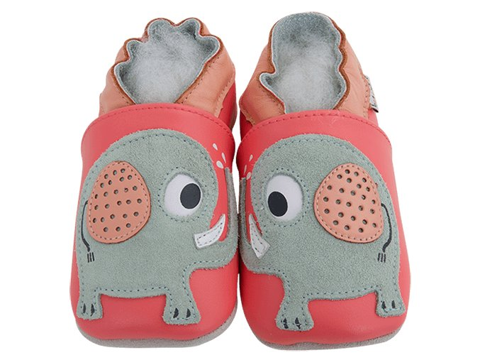 4884 chaussons cuir elephant front