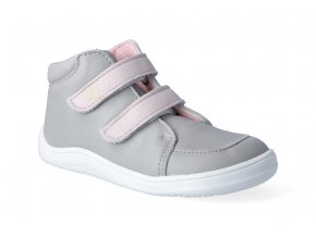 barefoot tenisky baby bare febo fall grey pink 2