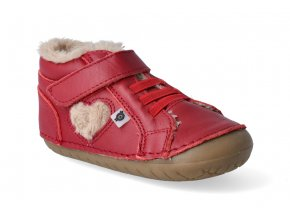barefoot zimni obuv oldsoles with love pave red 3