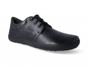 Barefoot zateplená obuv Sole Runner - Kari Smooth Black