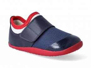 Barefoot capačky Bobux - Dimension II Navy + Red