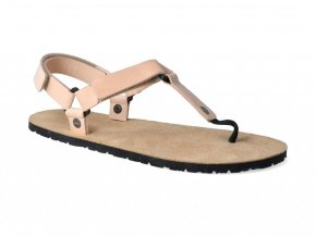 Barefoot sandále Boskyshoes - Rare Y Brown