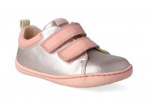 barefoot tenisky camper peu cami firstwalkers pink 3