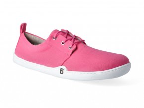 Barefoot tenisky bLIFESTYLE - GreenSTYLE Bio GOTS textile pink