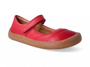 Barefoot baleríny Froddo - BF red