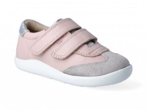 Tenisky Oldsoles - Journey Powder Pink Grey Suede Silver