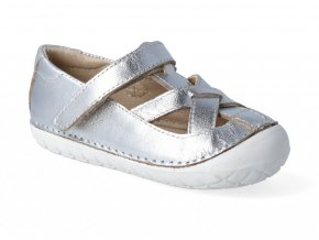 Barefoot baleríny Oldsoles - Pave Thread silver