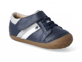 Barefoot tenisky Oldsoles - Shield Pave navy gris snow