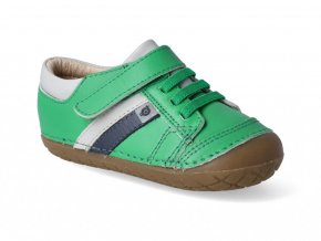 Barefoot tenisky Oldsoles - Shield Pave neon green gris navy