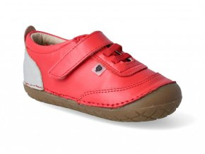 Barefoot tenisky Oldsoles - Caramba bright red