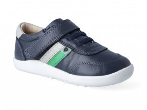 Tenisky Oldsoles - Play Ground navy gris neon green