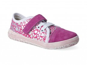 Barefoot tenisky Jonap - B15 Airy ružová tlač