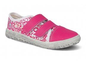 Barefoot tenisky Jonap - B15 Airy ružová tlač slim