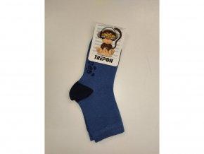 Detské bambusové ponožky Trepon - Hugo jeansové