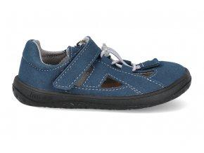 Barefoot sandálky Jonap - B9MF modrá