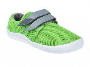 Barefoot tenisky Beda - Lime letné