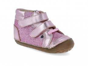 Barefoot tenisky Oldsoles - Glamster Pave Pink