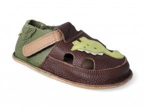 Barefoot sandálky Tikki shoes - Little Dinosaur