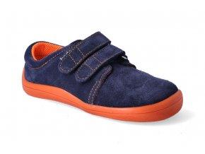 barefoot tenisky beda blue mandarine 3