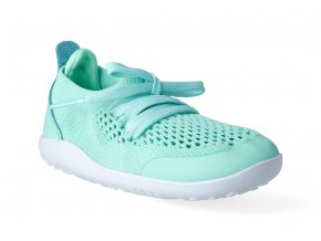 barefoot tenisky bobux play knit trainer peppermint1 5