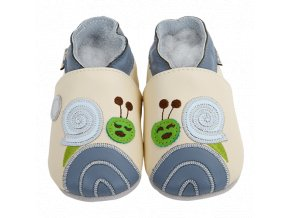 4257 chaussons cuir escargot front