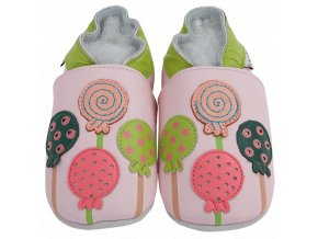 4278 chaussons cuir sucettes front