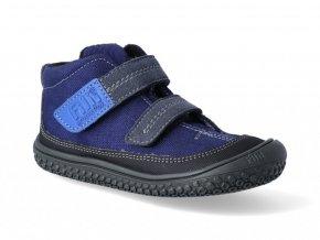 Členková barefoot obuv Filii - VEGAN MAMBA TEX Fleece Ocean/graphit M