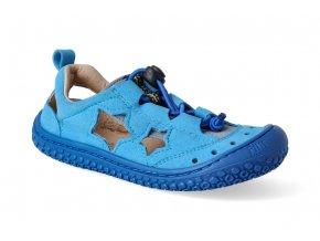 7445 2 filii barefoot sandaly sea star vegan quick lock textile turquoise blue m 3