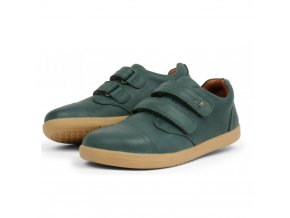 8117 bobux kid port shoe forest green 833003 sizes 27 33