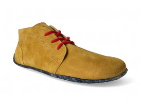 10013 1 kotnikova barefoot obuv be lenka celorocni mustard 2
