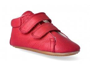 10862 1 barefoot zimni obuv froddo prewalkers sheepskin red 2