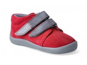 barefoot kotnikova obuv s membranou beda elis grey 2